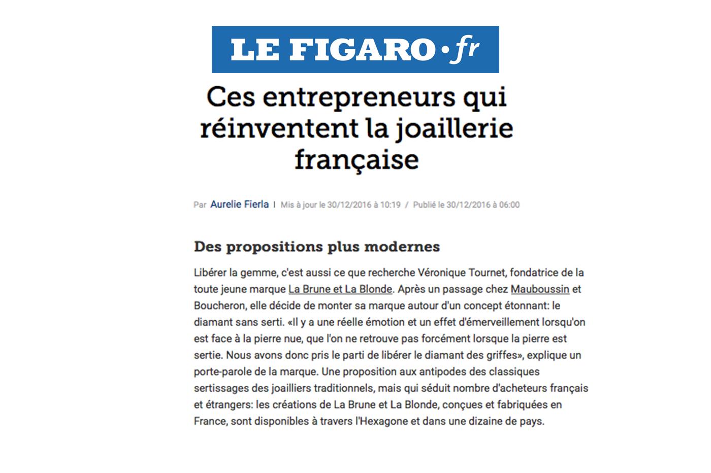 DISRUPTING THE CODES! – LEFIGARO.FR