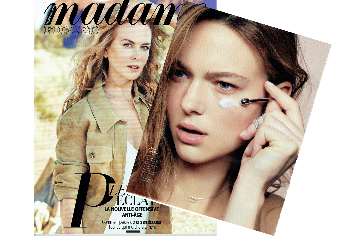 THE PAMPILLES NECKLACE IN THE BEAUTY PAGES – MADAME FIGARO