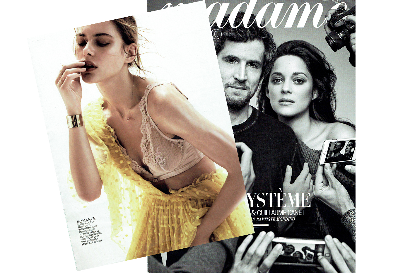 DELICATE AS LACE – MADAME FIGARO