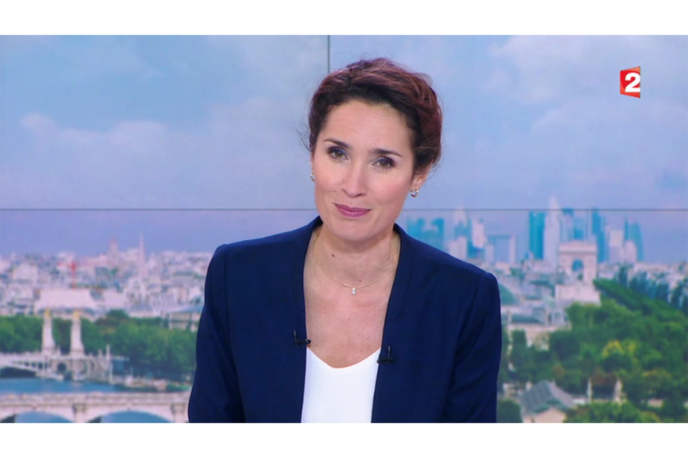 MARIE SOPHIE LACCARAU x COLLIER DUO 360° – Journal 13H00 – France 2