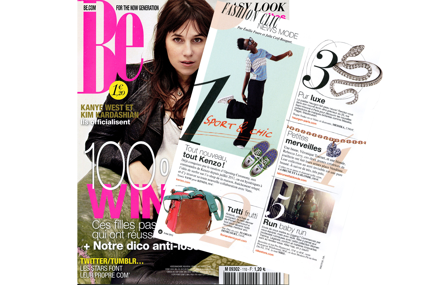BE A BLOND, BE A BRUNETTE– BE MAGAZINE