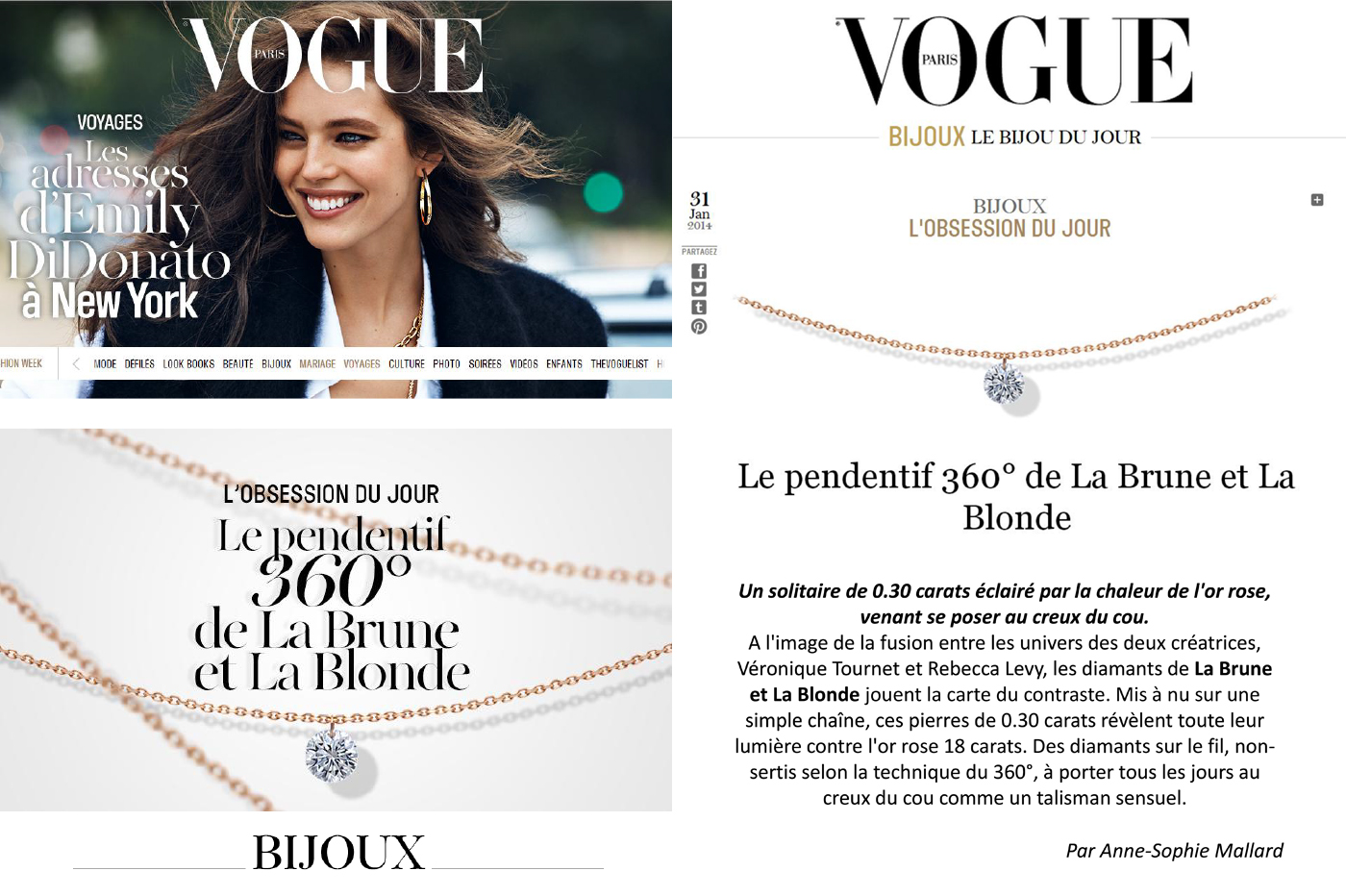 OBSESSION ! – VOGUE