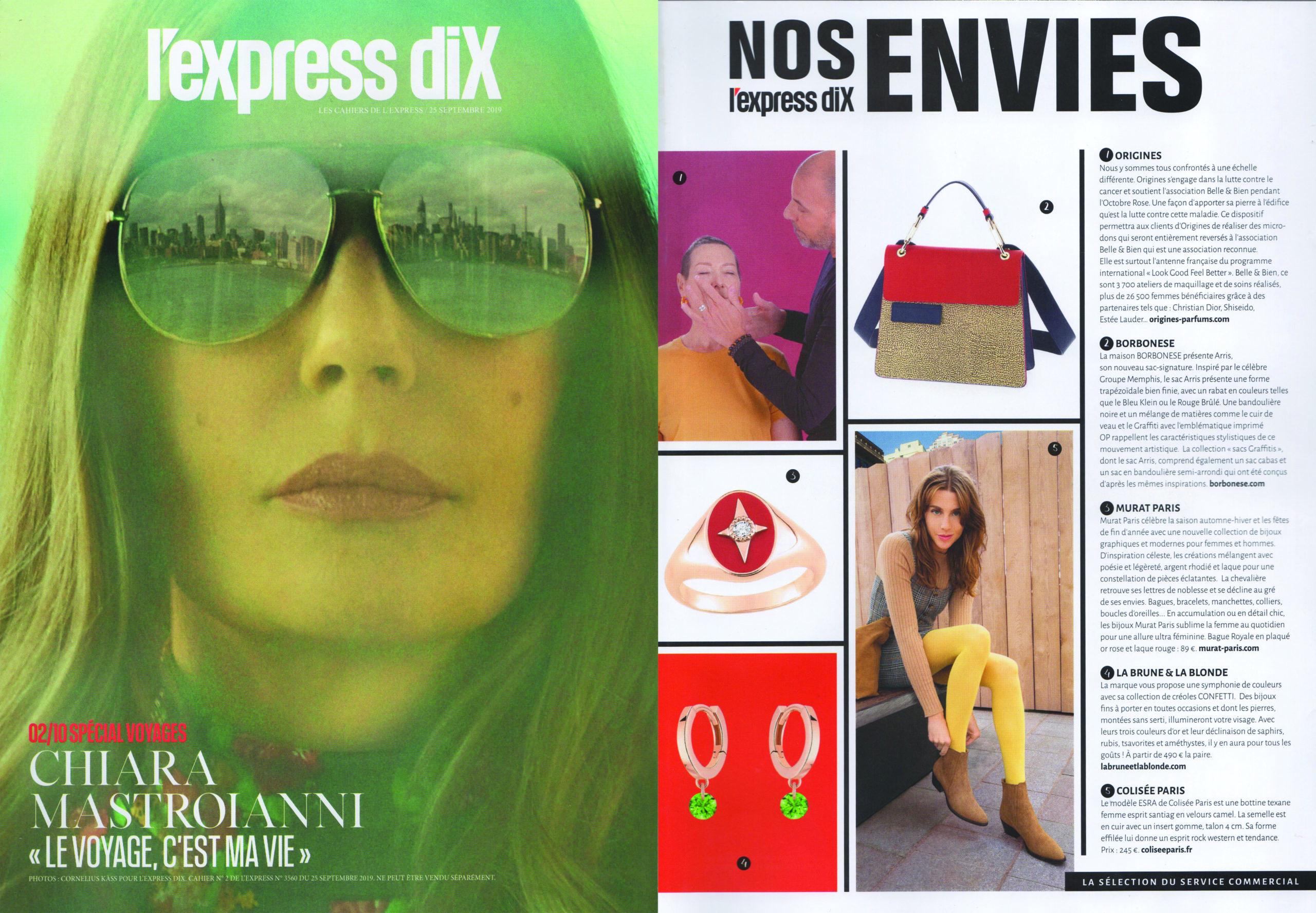 CONFETTI HOOPS X L'EXPRESS DIX