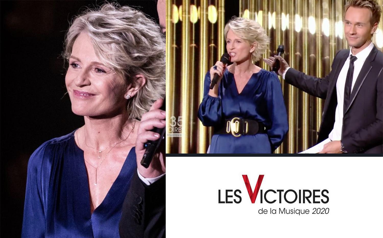 Sophie Davant – Victoire de La Musique X MAJORETTE long necklace and 360° necklace tie