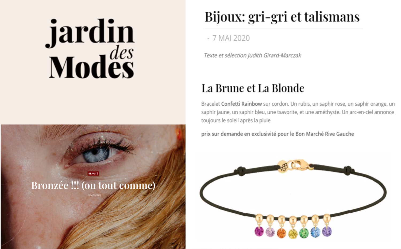Confetti Rainbow Bracelet X Jardindesmodes.fr