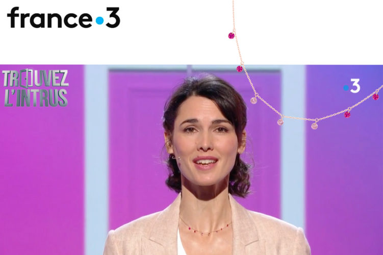 CONFETTI PINK NECKLACE X FRANCE 3