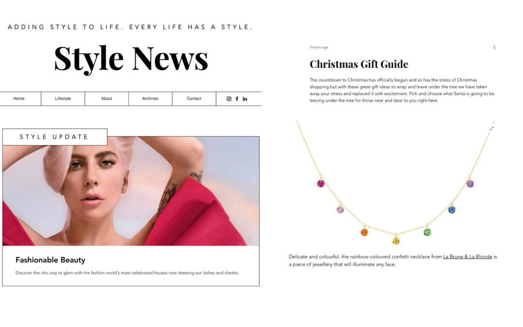 CONFETTI NECKLACE X STYLE NEWS BY SANDRA ISKANDER